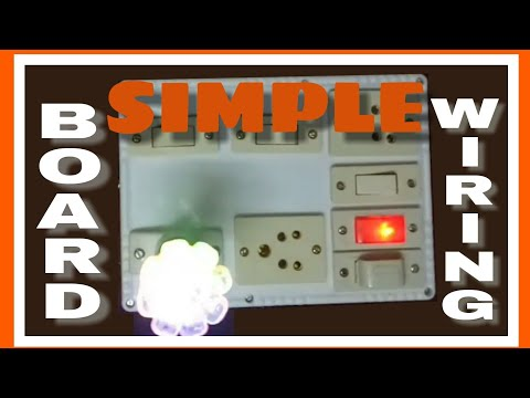 How to wiring a electric house board