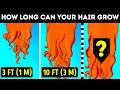 Each Person Has a Maximum Hair Length and 26 Cool Hair Facts