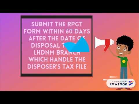 Real Property Gains Tax (RPGT)