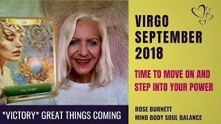 Virgo September 2018 *Victory* Great Things Coming Your Way!!!