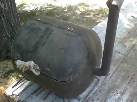 5 Gallon Propane Tank Grill Diy Youtube