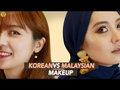 Malaysian vs Korean Makeup |Blimey X Lotte Duty Free thumbnail