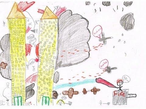 TX Teacher Make Kids Draw Violent Images On 9 11