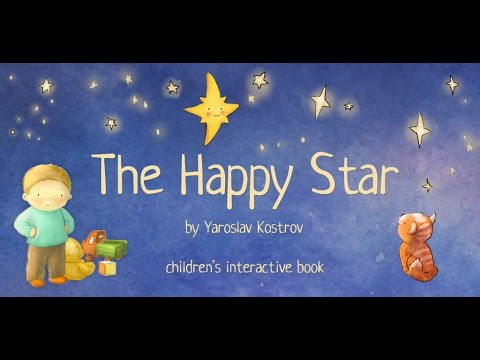 The Happy Star - Children's Interactive Book / Bedtime Story