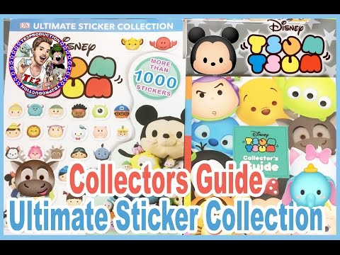 Disney Tsum Tsum Collectors Guide & Ultimate Sticker Collection