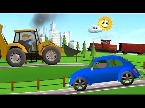 Мультфильм про трактора раскраска