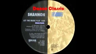 Shannon - Let The Music Play (Ultimix Remix)