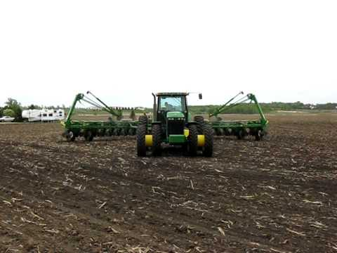 Results. JD 1770NT CCS planter, 24Rx30, 2 pt., eSet precision planting equipment..