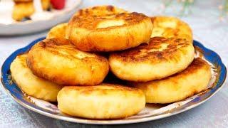 СЫРНИКИ из творога на сковороде, НЕ классический рецепт вкусных сырников с манкой!