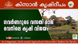 Feature on the  vegetable cultivation activities at  Raj Bhavan and Dept of Survey-595