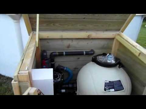 filtration piscine local technique pour filtration d\'une piscine ...