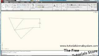 Free Latest Autocad  Tutorials 2011: Part 1 how to use Ribbon Control autocad 2009