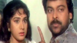 Chiranjeevi, Meenakshi Seshadhri, Aaj Ka Goonda Raaj - Comedy Scene 4/15