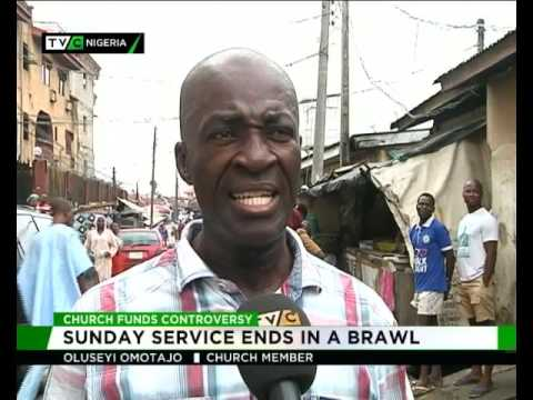 Church members engage in fisticuffs during service in Yaba, Lagos