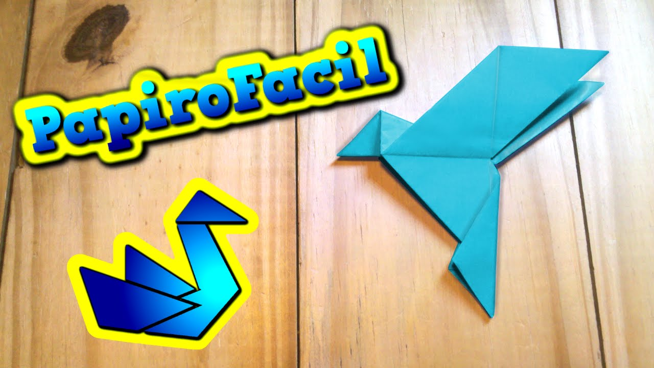 How to make a Paper Bird: Easy Origami Paper Bird Instructions | 720x1280