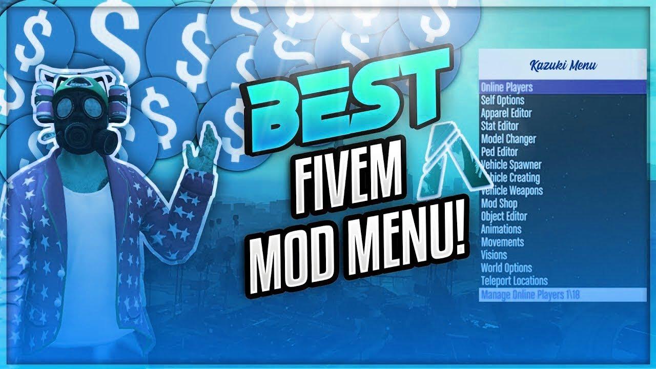 Fivem mod menu 2019