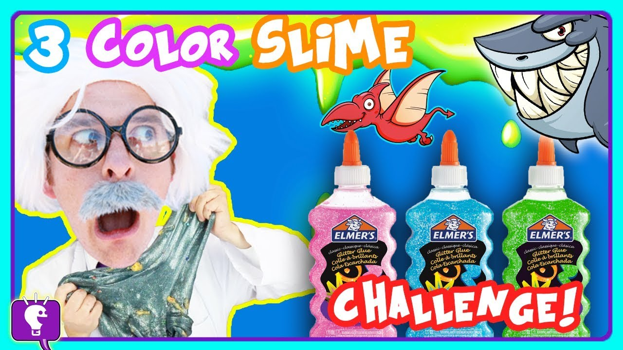 TELEPORTING SLIME with HobbyHarry ScienceLab! Challenge with HobbyKidsTV