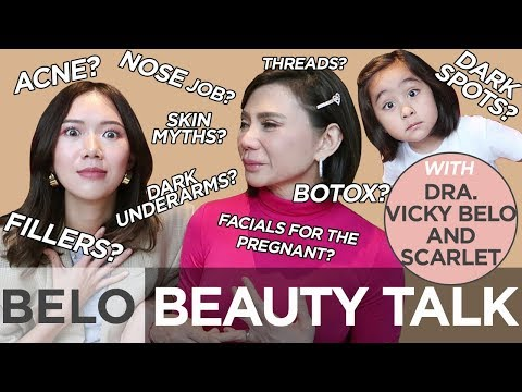 Beauty Lessons with Dra. Vicky Belo (And Scarlet) | Camille Co