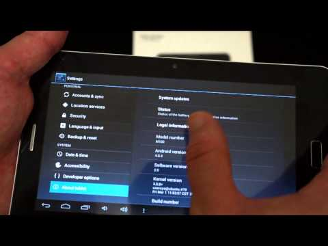 Aiwa M100 phone calling tablet PC review - In-depth