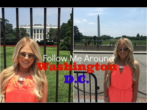 Follow Me Around Washington DC Vlog