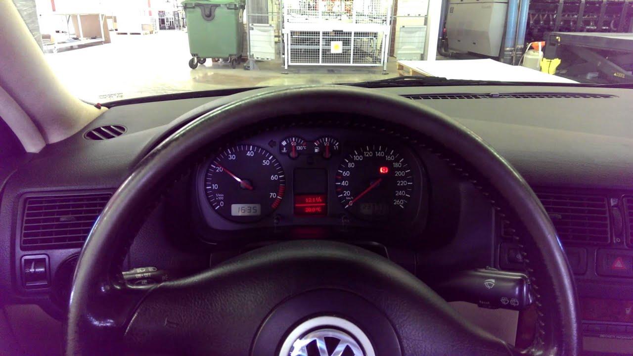 VW Golf Mk4 V6 2.8 24v with Milltek non-resonated cat back exhaust