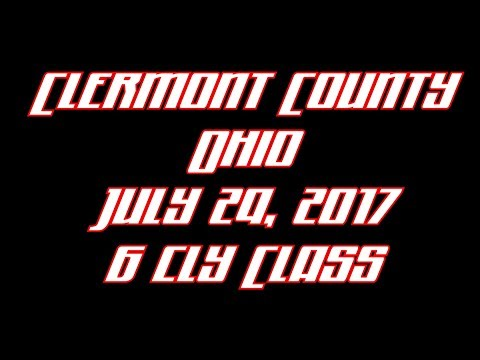 Clermont County Ohio July 29 2017 6 cyl Class