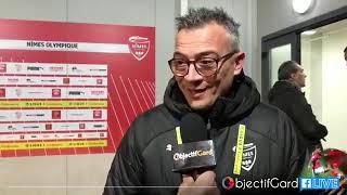 Victoire du Nîmes Olympique face à Nantes, interview du directeur sportif Laurent Boissier