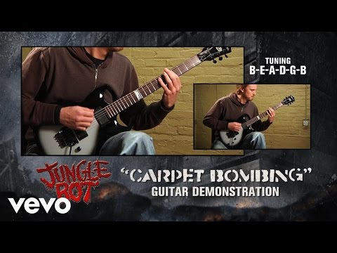 "Jungle Rot - ""Carpet Bombing"" Guitar Demonstration"