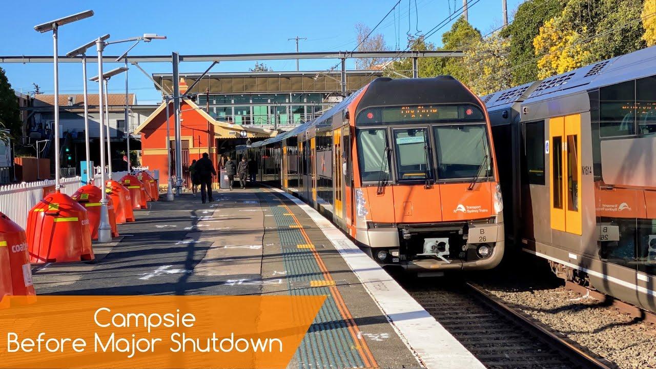 Sydney Trains Vlog 1862: Campsie Before Major Closure