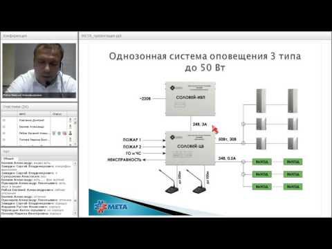 "Вебинар по продукции ""НПП МЕТА"" 26.01.2016"