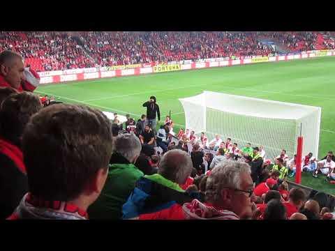SK Slavia Praha – FC Viktoria Plzeň  4-0   1.9.2018 Děkovačka