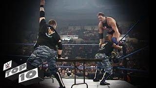 Die Dudley Boyz im Tische-Zerstörungswahn: WWE Top 10