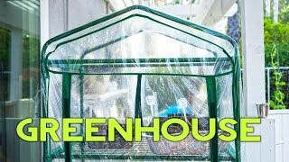 Greenhouses - How To Build a 4-tier Gardman Greenhouse Easy & Cheap in minutes!