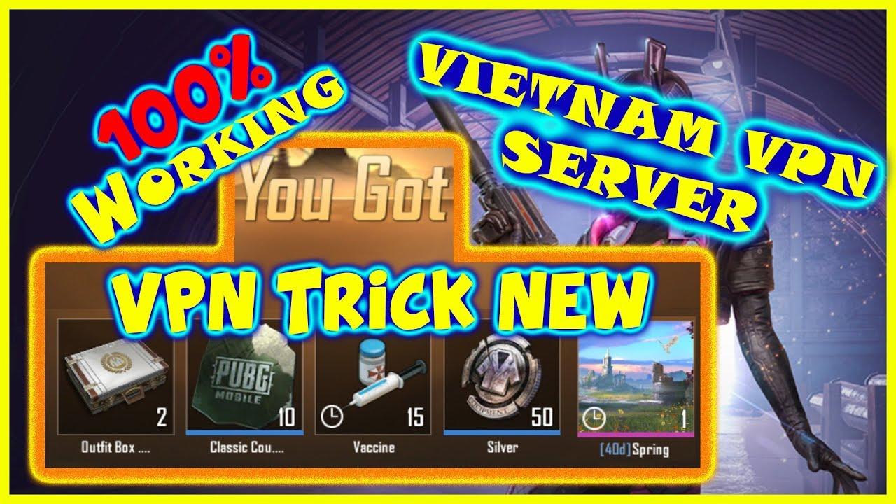 New PUBG Mobile VPN Trick | Vietnam VPN Server | Coupon Scarp,Vaccine &  Many More | Malayalam | RDG