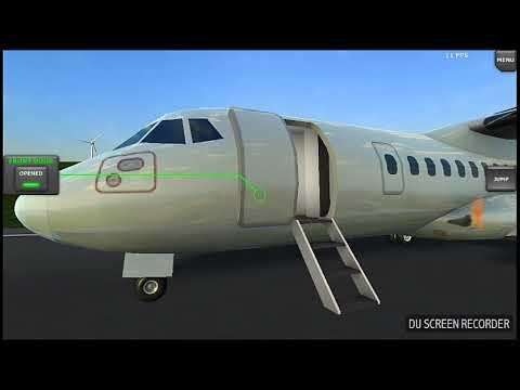 Turboprop Flight Simulator -  Pane Na Turbina Mas Deu Tudo Certo, Simuladores De Voo