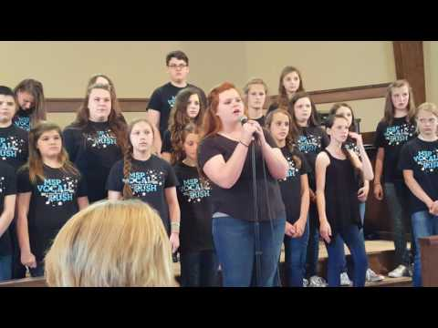 Titanium (by David Guetta/ Sia) performed by the Middle School of Poplarville May 12, 2016.