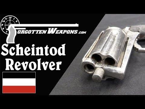 Scheintod Revolver: A German Tear Gas Pepperbox