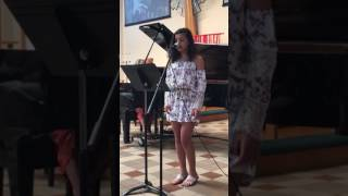 Salena voice recital