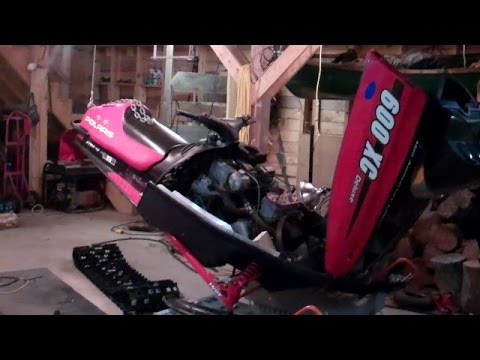 Track Replacement on a 2000 Polaris 600 XC Deluxe
