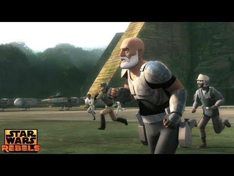 Star Wars Rebels: The ghost Crew Arrives on Yavin 4