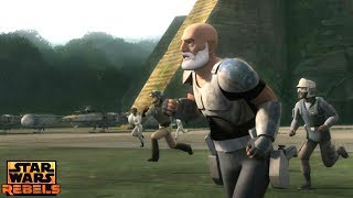 Star Wars Rebels: The ghost Crew Arrives on Yavin 4