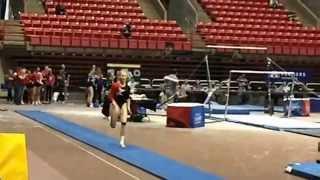 Gymnastics State Finals: Vault-Slow Motion