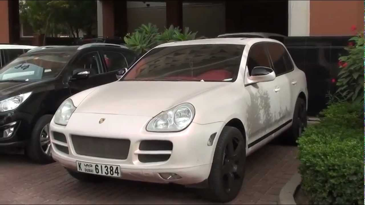 Porsche Cayenne 1st Generation  effect paintjob in mother of