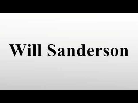 Will Sanderson