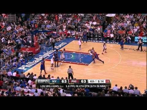 The Jeremy Lin Show Vs. Philadelphia 76ers (3/21/12)