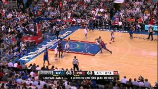 The Jeremy Lin Show Vs. Philadelphia 76ers (3/21/12)