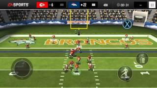Madden Mobile Season Mode-Ep 3(Touchdowns Galore!)