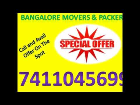Bangalore Packers and Movers Cont, 7411045699