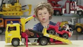 Bruder Toys Expert Tow Truck Review Episode #005