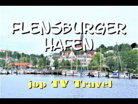 Rundgang Um Den Hafen Von Flensburg (Schleswig-Holstein) Deutschland Reisebilderbuch Jop TV Travel